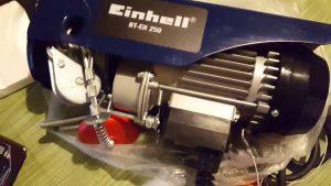 palan électrique einhell BT-EH-250